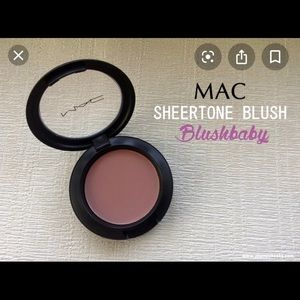 Mac sheertone blush in shade blushbaby